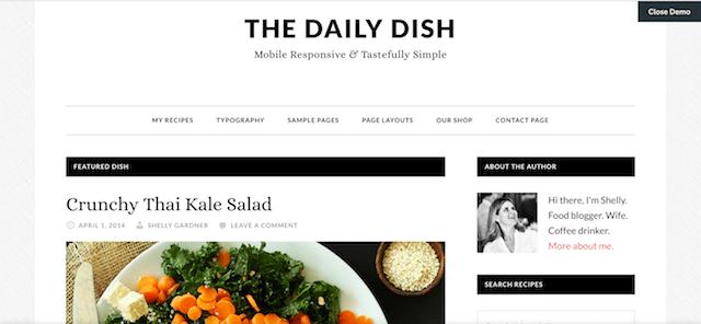 Best Food Blogs WordPress Themes