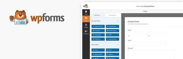 Best Form Builders WPForms