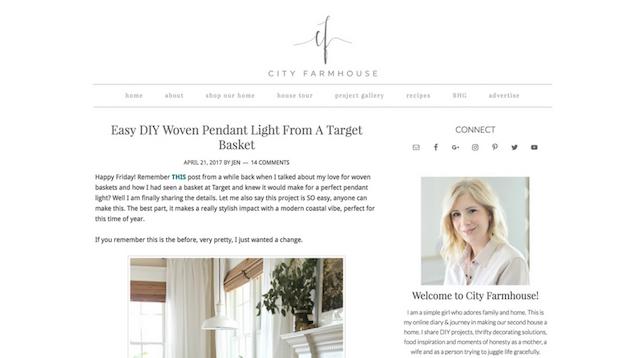 Best Interior Design Blogs City Farmhouse