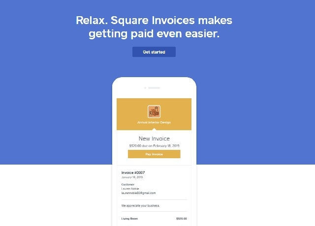 Best Invoicing Software Square
