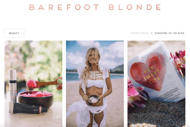 Best Makeup Blogs Barefoot Blonde