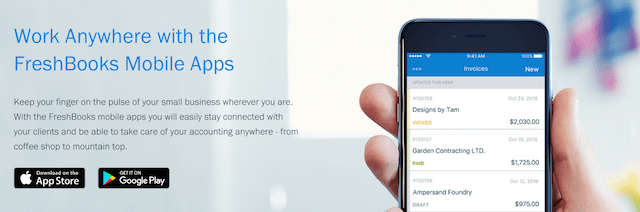 Best Mobile Apps Freshbooks