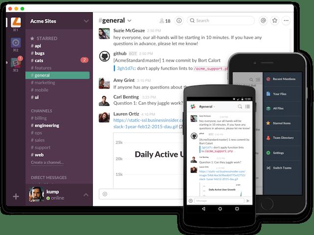 Best Mobile Apps Slack
