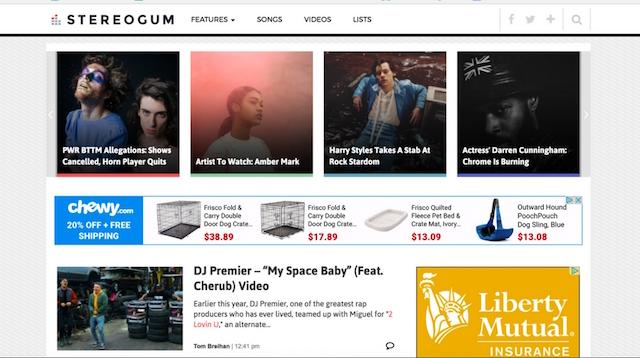 Best Music Blogs Stereogum