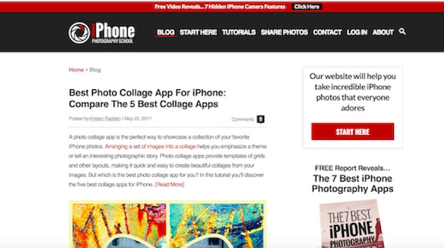 Best Photography Blogs iPhone Photography School