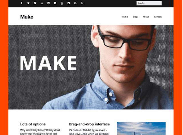 Best Portfolio WordPress Themes Make