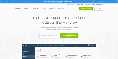 Best Project Management Software Wrike
