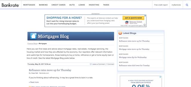 Best Real Estate Blogs Bankrate