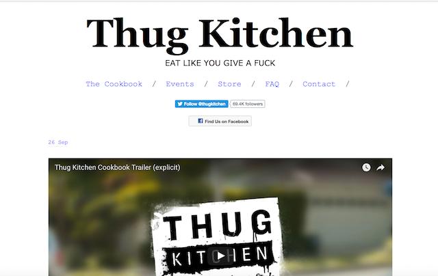 Best Vegan Blogs Thug Kitchen