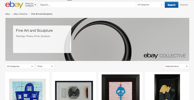 Best Websites to Sell Art eBay