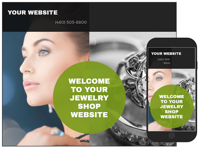 Best Websites to Sell Jewelry GoCentral Template