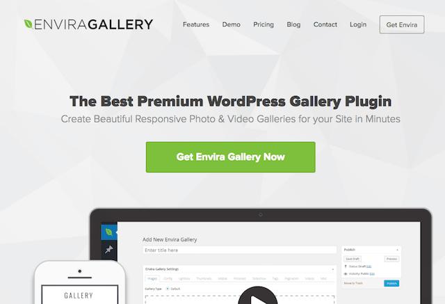 Best WordPress Portfolio Plugins Envira Gallery