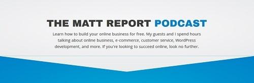 Best WordPress Podcasts The Matt Report