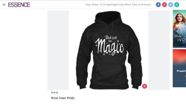 BlackGirlMagic T-shirt
