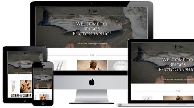 Briggs PhotoGraphics Website Mobile