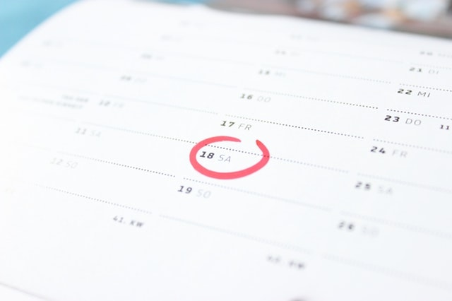 Budgeting Tips Calendar