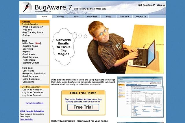 Bug Tracking Tools Bug Aware