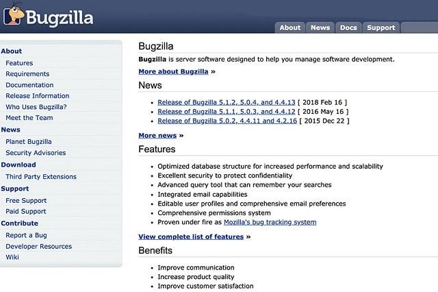 Bug Tracking Tools Bugzilla