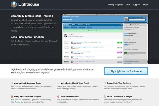 Bug Tracking Tools Lighthouse