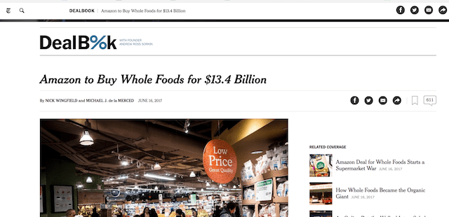 Business Questions Amazon Buys Whole Foods