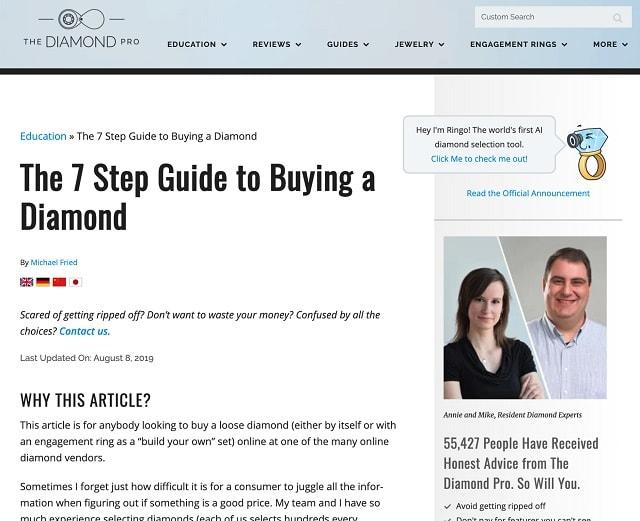 Guida dell'acquirente Diamond Pro