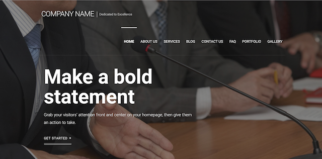 Campaign Websites Managed WordPress Template