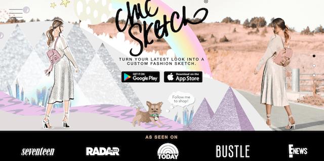 Chich Sketch Homepage