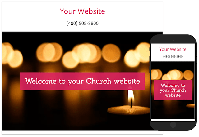 Church Online GoCentral Template