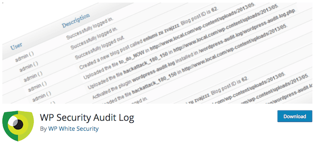 Comply With GDPR WP Security Audit Plugin