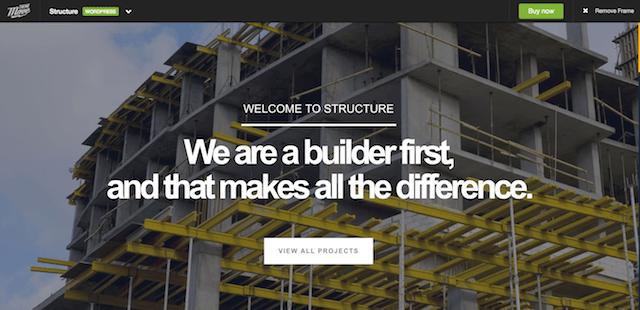 Construction WordPress Theme Structure