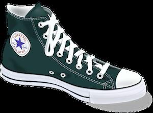 Converse Shoe Illustrates SEO Long Tail Keywords