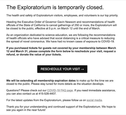 COVID-19 Exploratorium