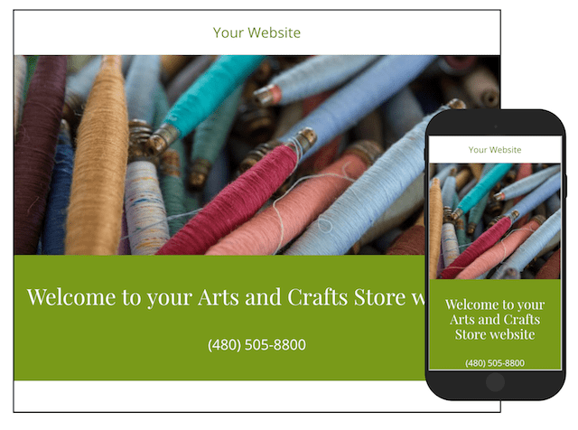 Crafts to Make and Sell GoCentral Website