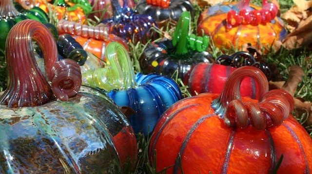 Create It Gregory Tomb Glass Pumpkins
