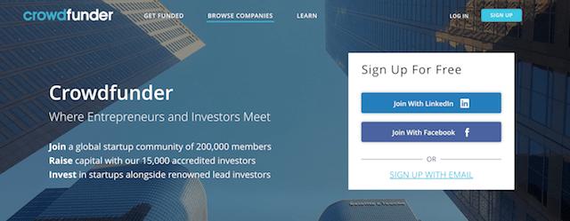 Crowdfunding Platforms Crowdfunder