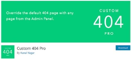 custom 404 Page WordPress 404 Pro