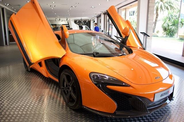 Custom Car Shops Orange