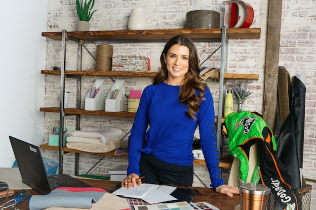 Danica Patrick and GoDaddy Office