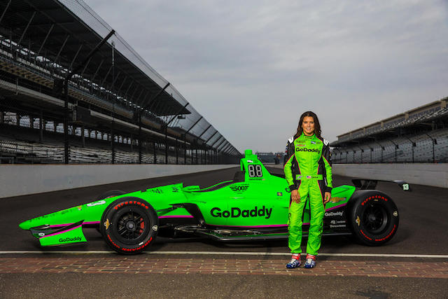 Danica Patrick GoDaddy Indianapolis 500