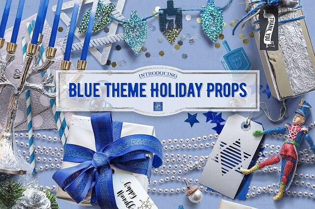 Decorate eCommerce Shop Blue Theme