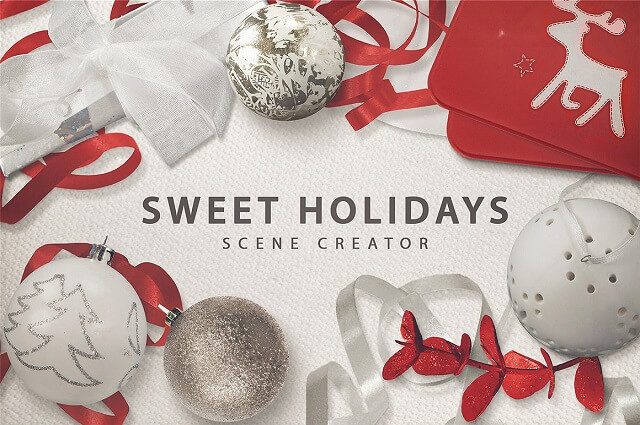 Decorate eCommerce Shop Sweet Holidays