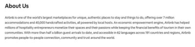 Defining Company Values Airbnb