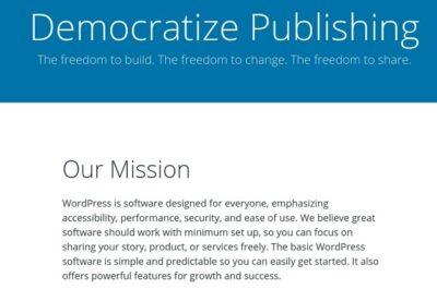Defining Company Values WordPress