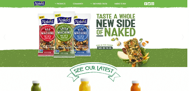 Digital Marketing Lessons Naked Juice