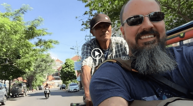 Digital Nomad Lifestyle Pedicab