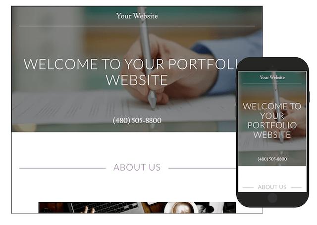 Digital Nomad Portfolio Website