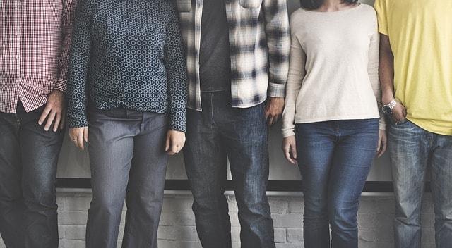 Diverse People Illustrates Social Demographics