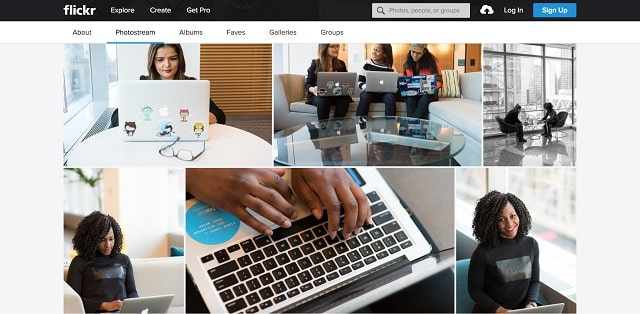 Diverse Stock Photos Women of Color in Tech Chat Examples
