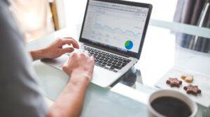 Domain Authority Man Viewing Analytics
