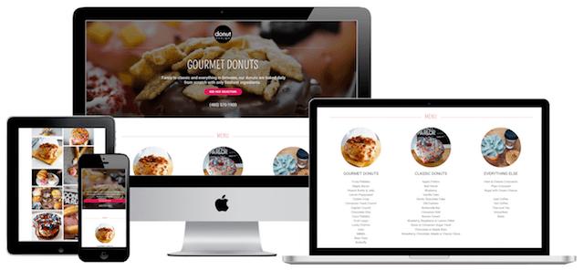 Donut Parlor GoCentral